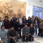 Alberto Martorell forma parte de la plana docente del programa de Especialización Superior en Gestión de la Cultura de la prestigiosa Universidad Andina Simón Bolívar, en su sede de Quito. Acá posa con algunos de sus alumnos.