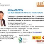 El 2012 la Organización de Estados Iberoamericanos invitó al Dr. Alberto Martorell a dictar en los programas de maestría de la Universidad de Barcelona de su especialidad. Parte de esas actividades incluyeron la conferencia que se anuncia en esta nota.