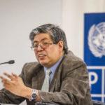 Dado que su tesis doctoral se refirió a los itinerarios culturales, Alberto Martorell ha participado en diversos eventos organizados por el Programa Qhapaq Ñan. En la foto se encuentra dictando una conferencia en la Semana del Qhapaq Ñan el 2016.