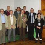 Alberto Martorell junto a los delegados de Argentina, Polonia, México y Alemania (primera línea) y Suecia, Israel, Australia, México y Estados Unidos.