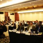 Plenario de asistentes a la Reunión del Comité Consultivo de ICOMOS celebrado el 2012 en Beijing, China.