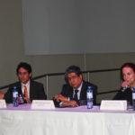 El 2014, durante la celebración del Día Mundial de los Monumentos (18 de abril) en la Conferencia Científica, junto al Dr. Arq. José Hayakawa y la Dra. Paloma Carcedo.