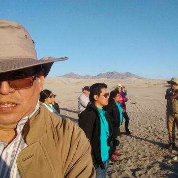 El Dr. Martorell participa de la visita técnica al sitio arqueoastronómico de Chankillo, como parte del equipo que elaboró el Plan de Manejo de este importante sitio, cuya candidatura a Patrimonio Mundial se viene tramitando actualmente.