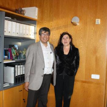 El 2011, el Dr. Alberto Martorell fue Profesor invitado del Máster Oficial de Turismo Cultural de la Universidad de Girona dentro de la materia obligatoria de Gestión del Patrimonio y Patrimonio de la Humanidad. Aquí se encuentra con la Dra. Dolors Vidal, Decana de la Facultad de Turismo de esa prestigiosa universidad.
