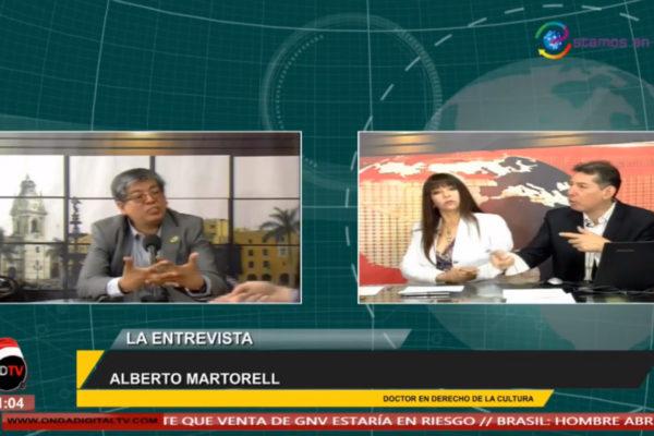 Entrevista al Dr. Alberto Martorell en ONDA Digital Tv.